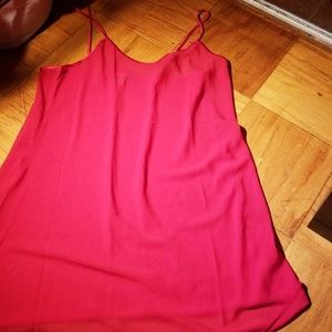 Red Nighty,  2X, great condition, 100%polyester